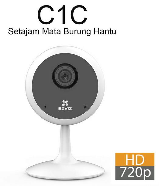 EZVIZ Hikvision C1C 720p Wi-Fi IP Camera CCTV